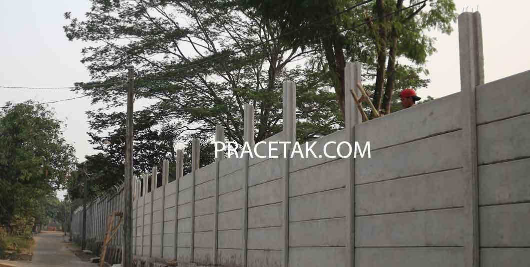 Harga Pagar Panel Beton Terpasang