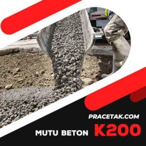 Beton Cor Mutu K200