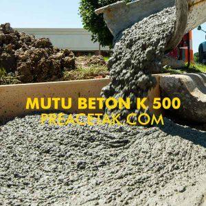 Beton Cor Mutu K 500